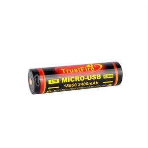 18650 USB Battery with discharge function