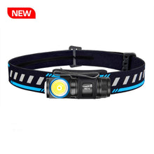 Load image into Gallery viewer, MC12 LED Headlamp Flashlight 1000 lumens USB Magnetic Charging