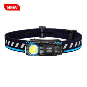 MC12 LED Headlamp Flashlight 1000 lumens USB Magnetic Charging
