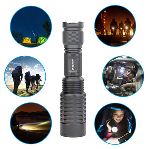 TrustFire Z9 Zoomable Flashlight
