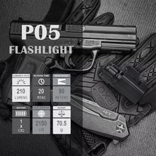 Load image into Gallery viewer, P05 Pistol Light