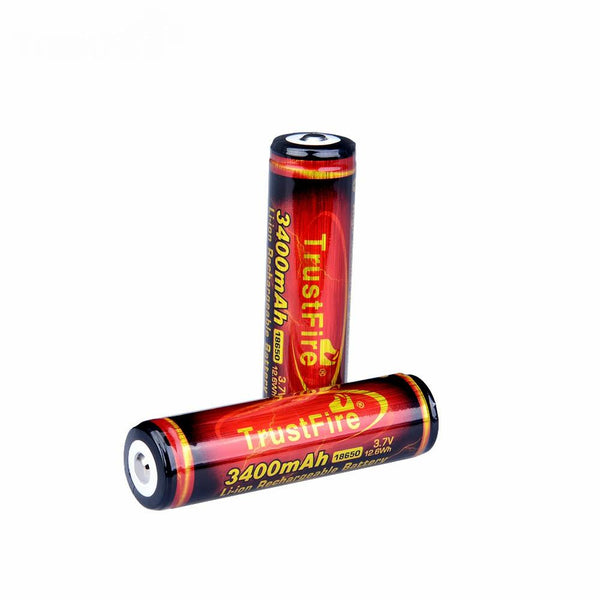 2 x TF18650 3400mah Batteries (fast delivery from GERMANY and USA could receive within 5 days)