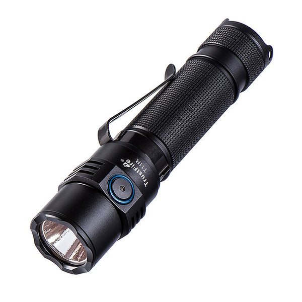 TrustFire T11R 1800 Lumen EDC Tactical Flashlight Rechargeable Pocket Clip 18650 LED Torch Outdoor Lighting