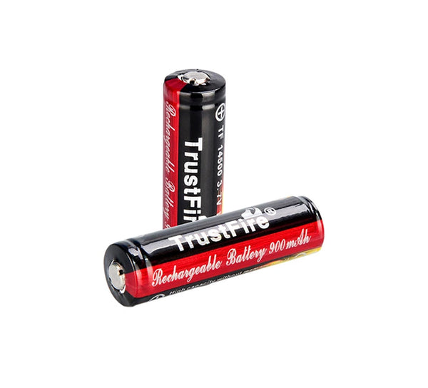 2 x TF14500 900mah Batteries (fast delivery from GERMANY and USA could receive within 5 days)