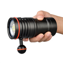Load image into Gallery viewer, TrustFire DF50 6500 Lumens Video Diving Photoraphy Light