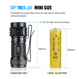 MC1 Rechargeable EDC Flashlight
