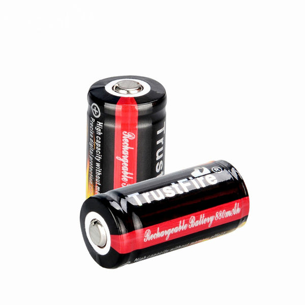 2 x TF16340 880mah Batteries
