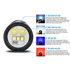 DF30 Diving Photo Video Light