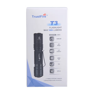 T3 Tactical EDC Flashlight (fast delivery from GERMANY and USA could receive within 5 days)