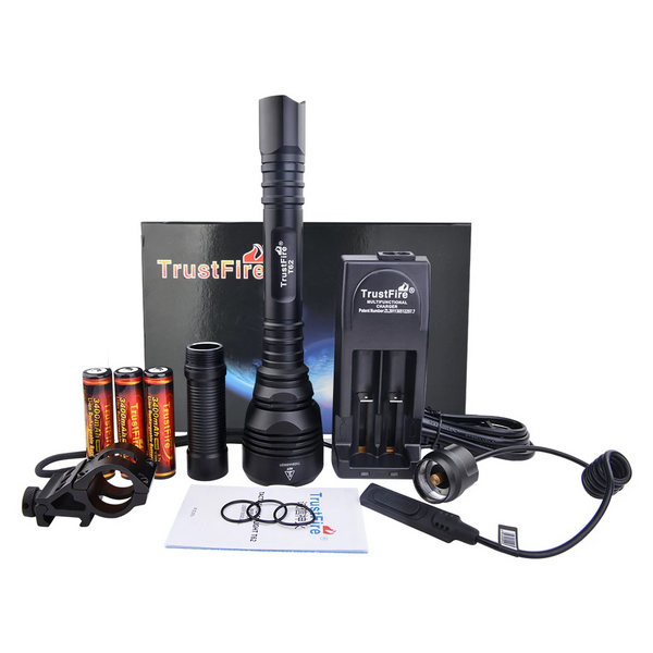 T62 LED Flashlight SET (fast delivery from GERMANY and USA could receive within 5 days)