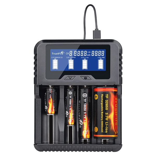 TR-020 Battery Charger for all batteries