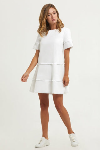 Jillian Dress - White