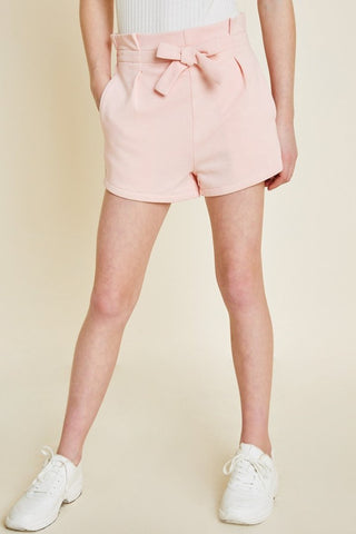 Terry Bow-Tie Short