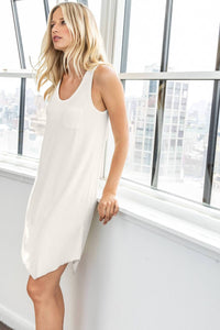 Light Terry Tank Dress