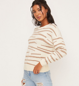 Cozy Drop Shoulder Sweater