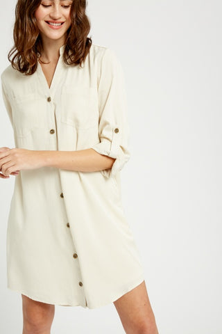 Button Down Shirt Dress