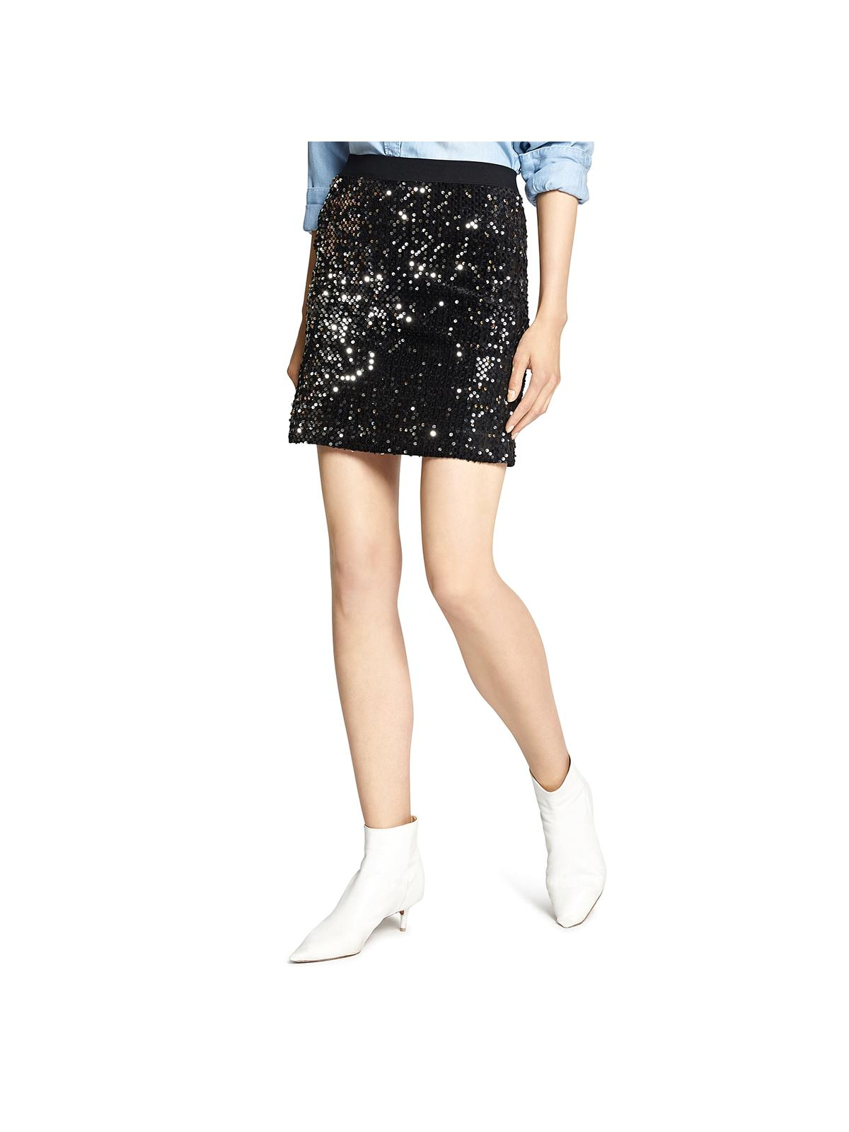 Ready for the Night Sequin Mini Skirt