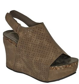 Hester Wedge - Taupe