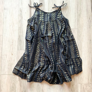 Metallic Gauze Sundress