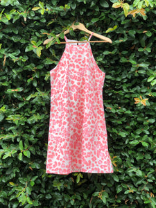 Cheery Cheetah Tank Dress