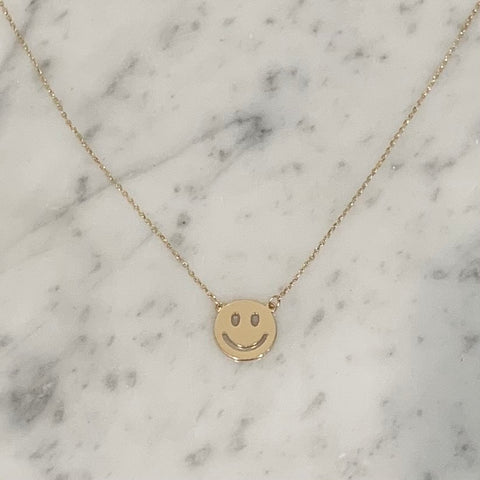 Golden Smiles Necklace