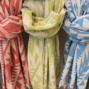 Turkish Towel - Geometric