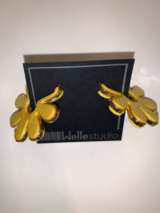 Shell Flower Earring