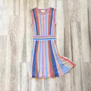 Soft Rainbow Brite Dress