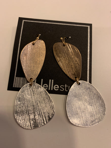 Metal Geometric Earring