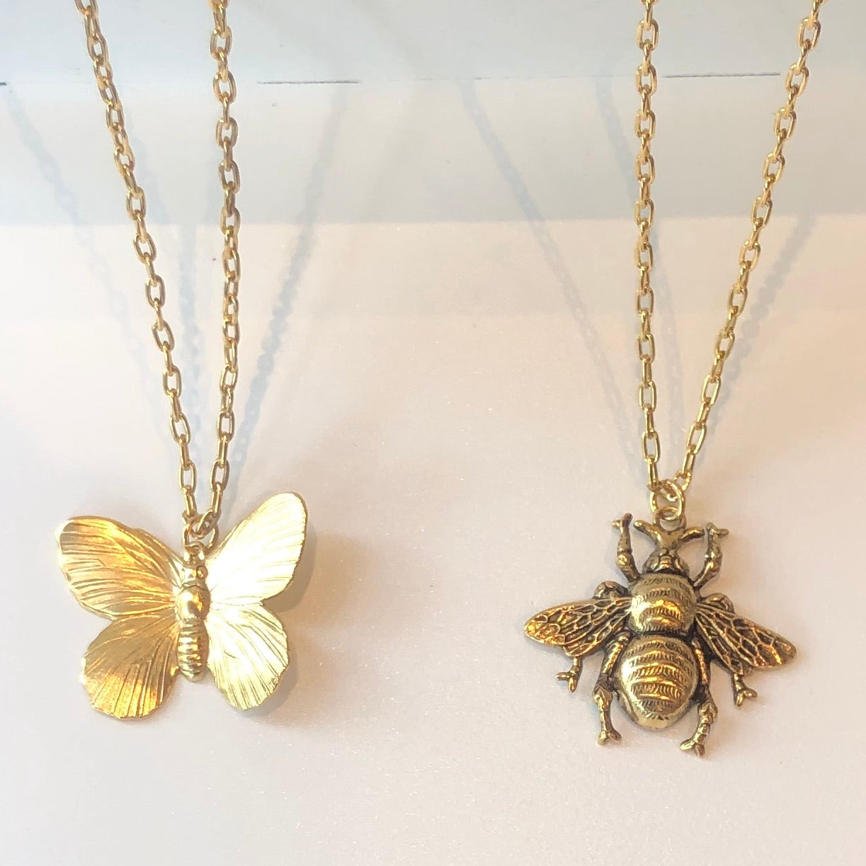 Adjustable Bee/Butterfly Necklace