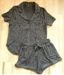 Star Pajamas Short Set