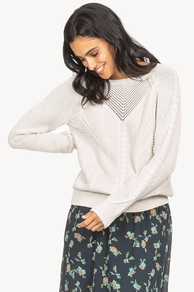 Cable Stitch Pullover