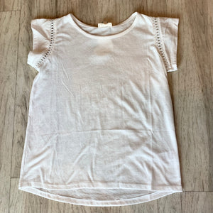 Hemstitch Trim Tshirt