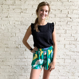 Pocket Print Shorts