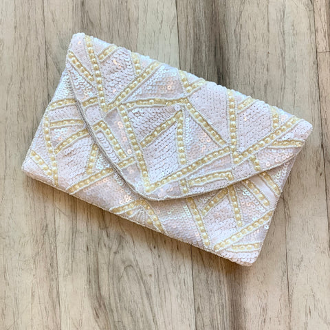 Sequin Pouch Clutch