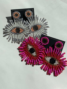 Eye Bead Earring