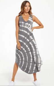Reverie Spiral Tie Dye Dress