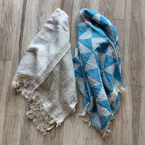 Turkish Towel - Triangles Print
