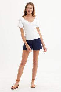 Navy Mia Short