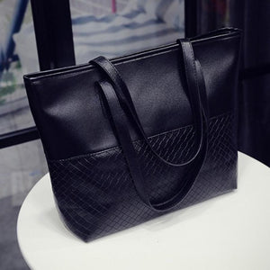 Leather Shoulder Tote/Satchel Bag - Rodeo.Driving