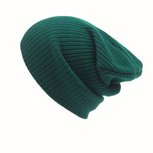Warm Knit Floppy Beanie, Unisex - Rodeo.Driving