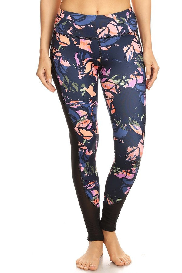 Quality Printed Legging with Side Pockets - Rodeo.Driving