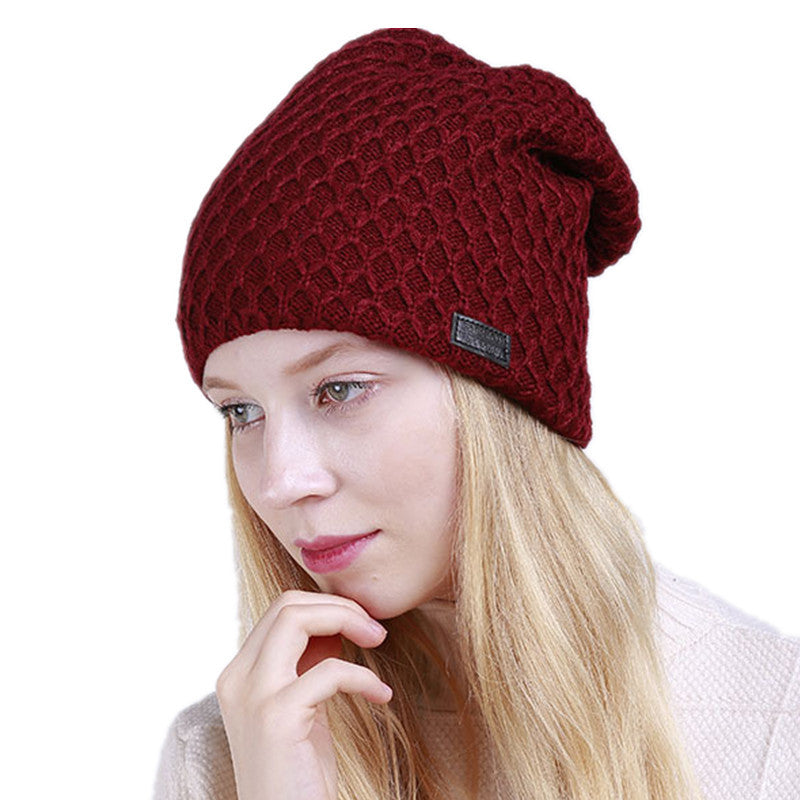 Beanie Hat, Knitted Cashmere