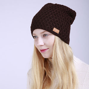 Beanie Hat, Knitted Cashmere - Rodeo.Driving