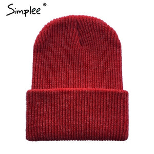 Knitted winter beanie, cotton blend streetwear - Rodeo.Driving