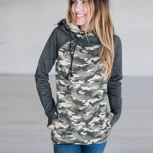 Camouflage Hoodie w/Pockets - Rodeo.Driving