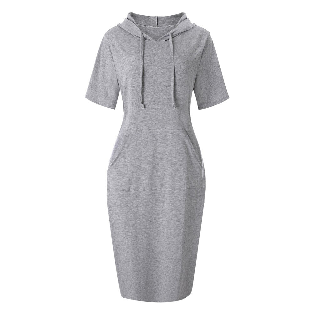 Pullover dress, Knee Length Sweatshirt/Hoodie - Rodeo.Driving