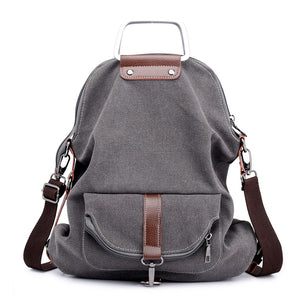 Canvas Backpack, Large Capacity, Multi-Pockets - Rodeo.Driving