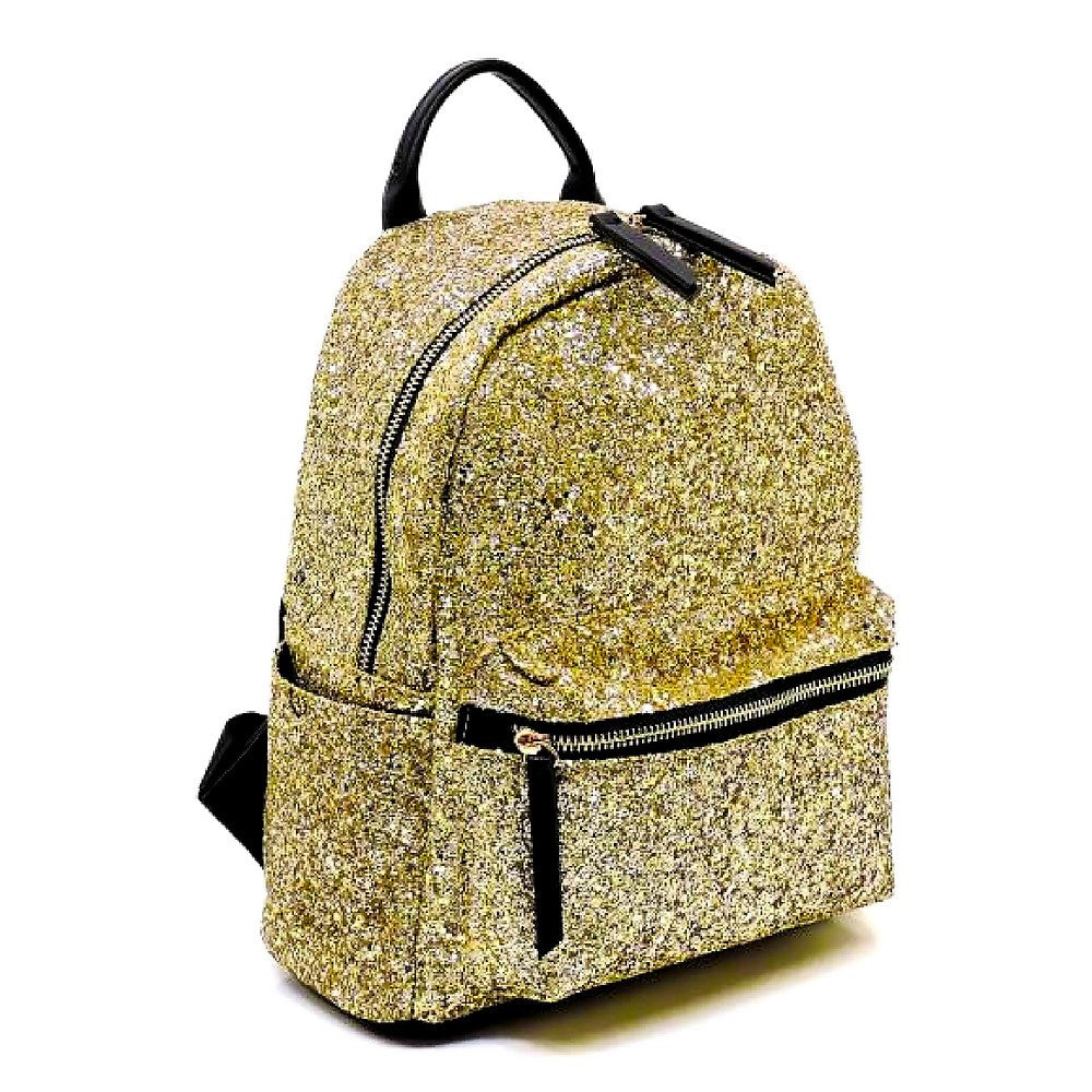 Gold Multi-Pocket Backpack - Rodeo.Driving