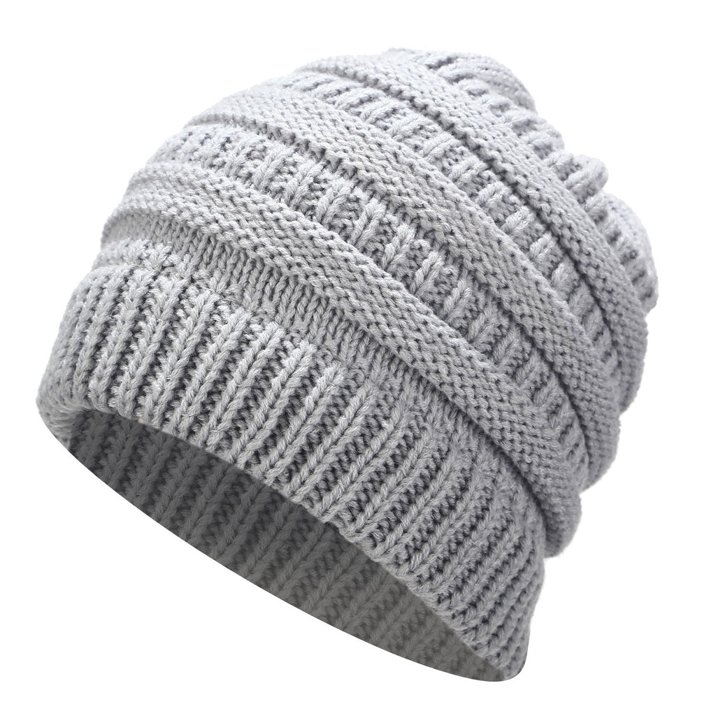 Ponytail Beanie For Women,  Knitted - Rodeo.Driving